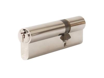 Цилиндр профильный 35/65, никелированный, ключ-ключ