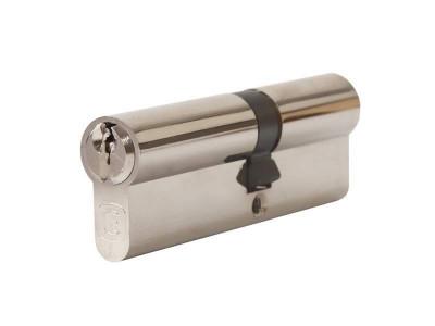 Цилиндр профильный 40/50, никелированный, ключ-ключ