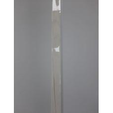 F-образный профиль Белый Дуб глянцевый, 3000 мм.