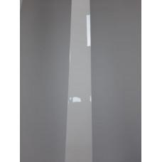 F-образный профиль Белый глянцевый, 3000 мм.