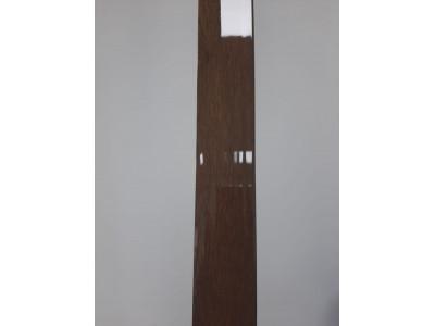 F-образный профиль Махагон глянцевый, 3000 мм.
