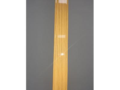 F-образный профиль Дуб Натуральный глянцевый, 3000 мм.