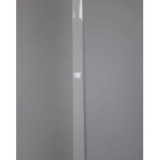 Стартовый профиль Белый глянцевый, 3000 мм.