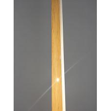 Стартовый профиль Дуб Натуральный глянцевый, 3000 мм.